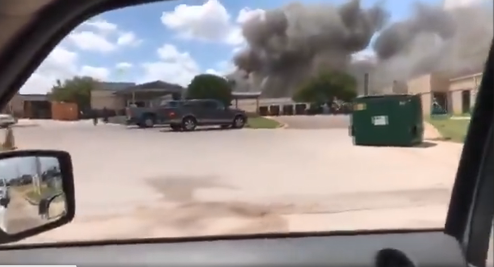 科里尔纪念医院(Coryell Memorial Hospital)爆炸