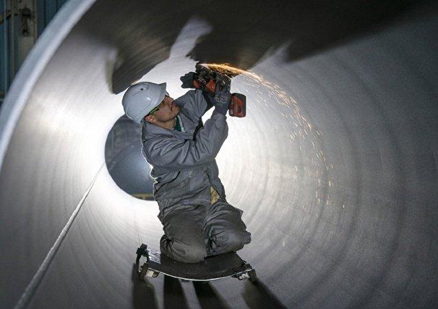 """道达尔公司总裁:欧洲需要""""北溪-2""""号管道天然气"""