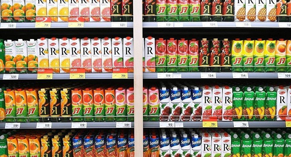 俄哈巴罗夫斯克一公司今年前5个月对华出口果汁增长一倍多