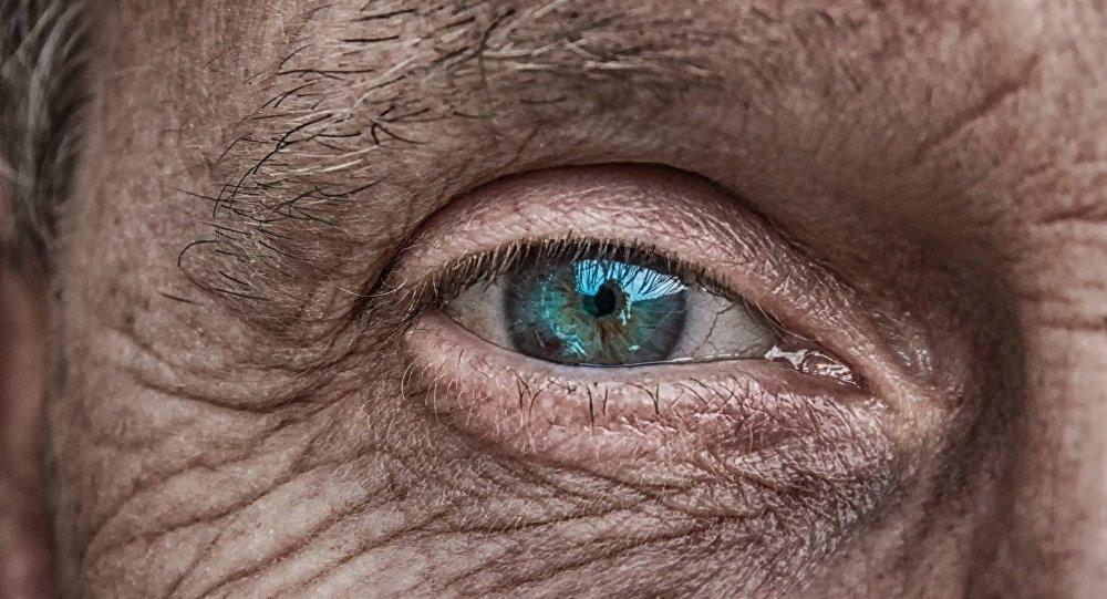 Взгляд пожилого человека
