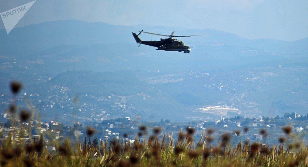 俄罗斯米-24直升机