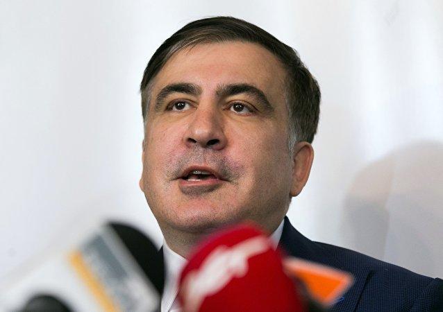 萨卡什维利接受泽连斯基建议 同意出任乌克兰副总理