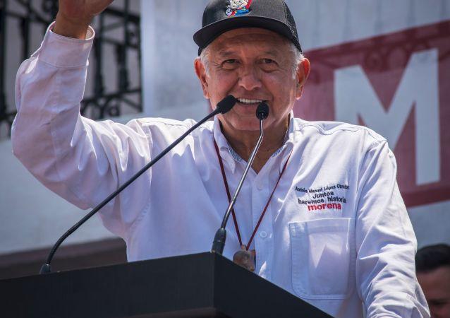 墨西哥当选总统洛佩斯