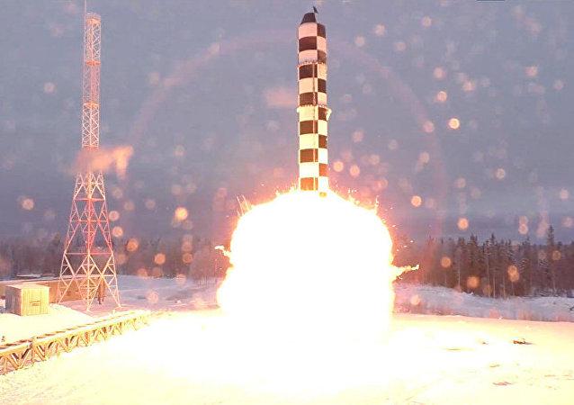 萨尔马特洲际导弹
