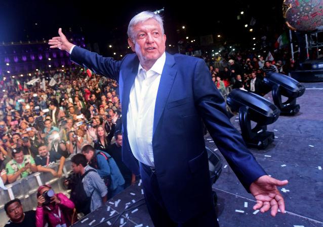 墨西哥总统洛佩斯•奥夫拉多尔