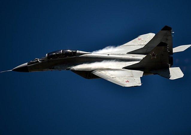 一架米格-29在波兰失事 飞行员丧生。