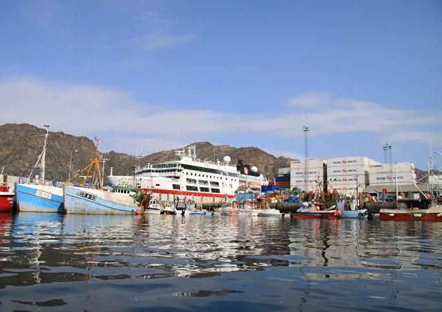 格陵兰岛港口