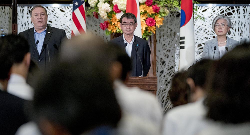 美国务卿:对朝制裁将在完全无核化之前保留