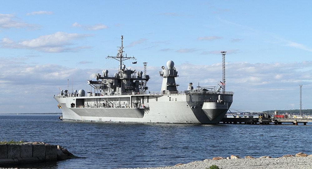 美国海军舰艇进入黑海
