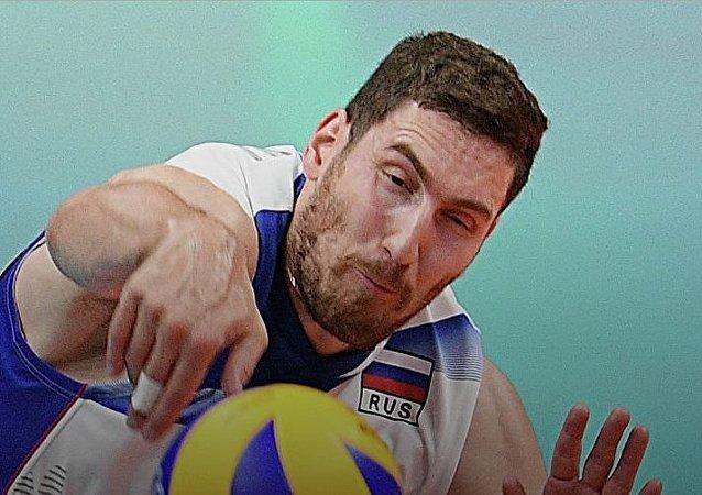 俄罗斯男排国际排球联赛首秀 战胜法国夺冠