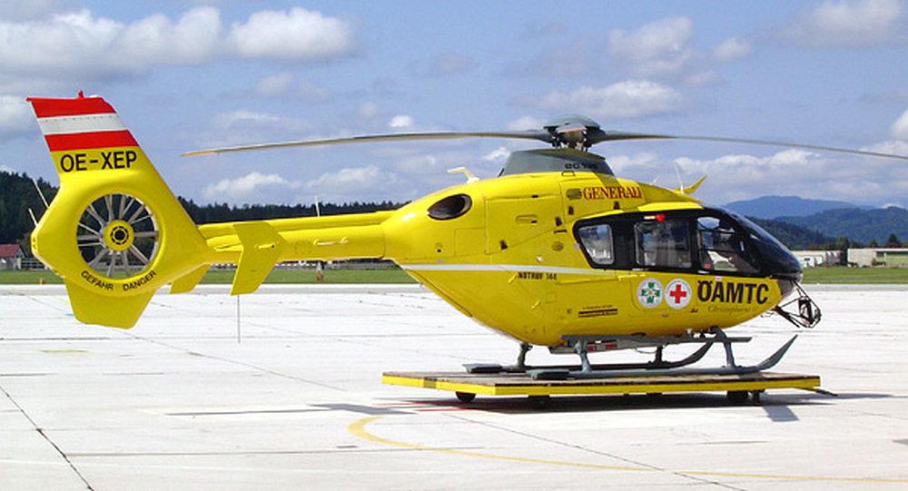 美国弗吉尼亚州一架医疗直升机坠毁 造成至少一人遇难