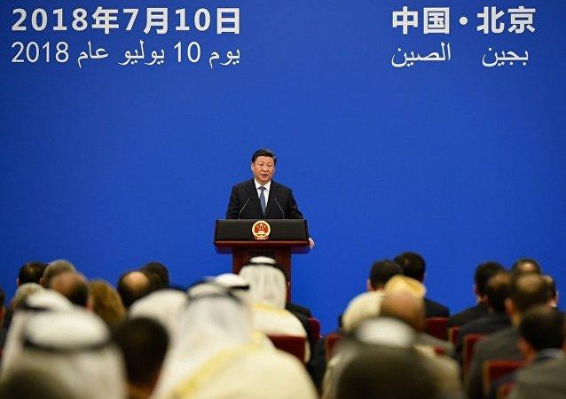 习近平宣布建立面向未来的中阿战略伙伴关系