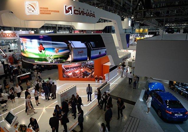 叶卡捷琳堡举行的第五届俄中博览会