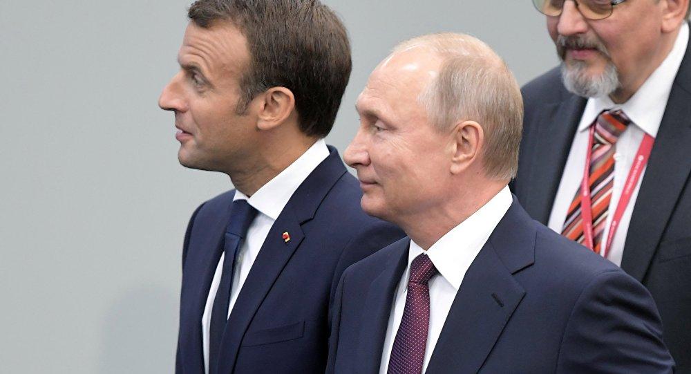 克宫:普京与马克龙通电话讨论叙局势解决问题