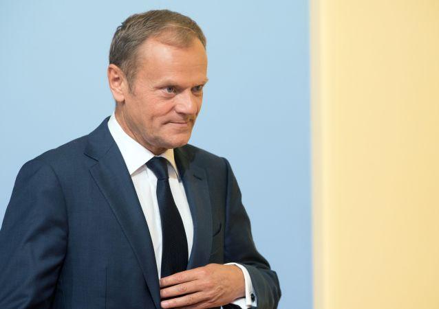 欧洲理事会主席:不会重审英国脱欧协议