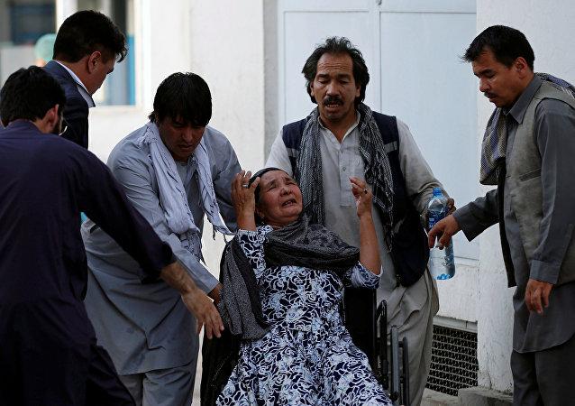 阿富汗喀布尔,2018年7月15日
