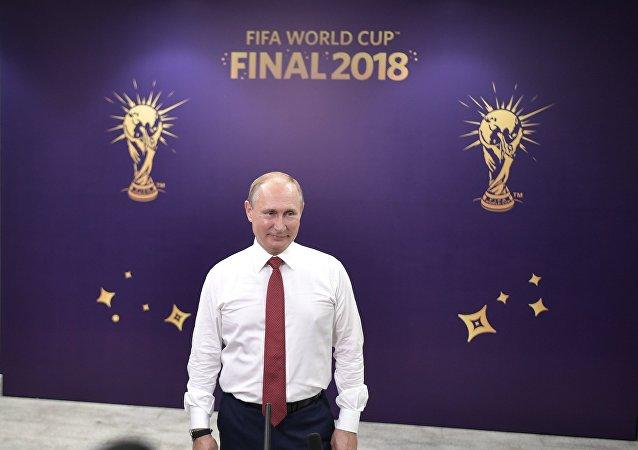 普京:俄罗斯的体育事业正处于上升阶段