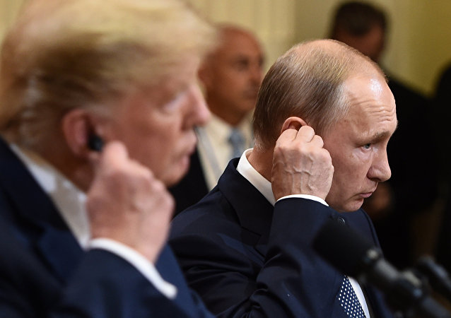 特朗普称,与普京的会晤胜过北约峰会