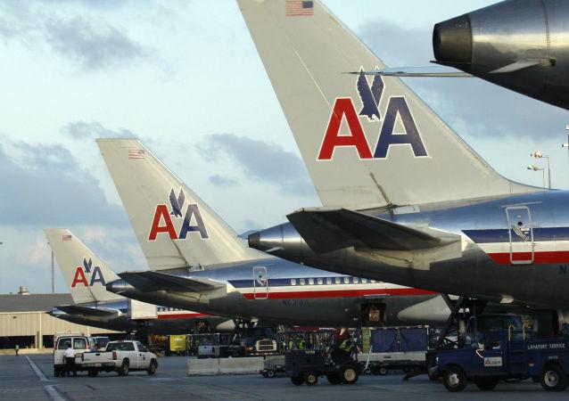 美国航空公司(American Airlines)航班