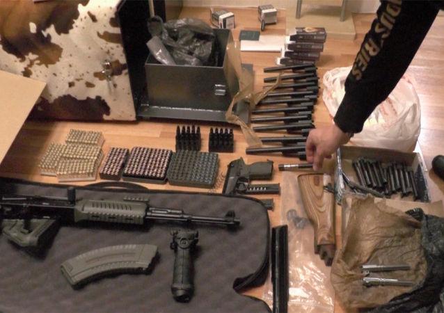 俄安全局开展清查自欧盟走私枪支的行动