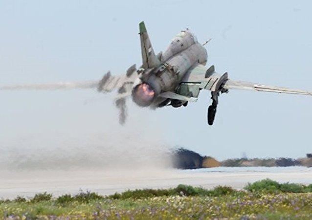 """以军击落一架叙空军 """"苏霍伊""""飞机"""