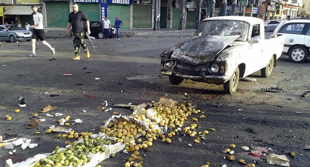 叙利亚苏韦达市恐怖袭击