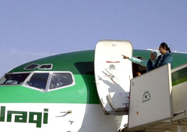 叙交通部:伊拉克航空事隔8年首次恢复飞往大马士革的航班