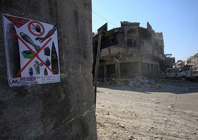 联合国:巴黎为帮助伊拉克排雷拨款50万欧元