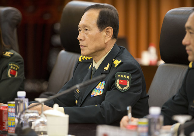 China's Defence Minister Wei Fenghe