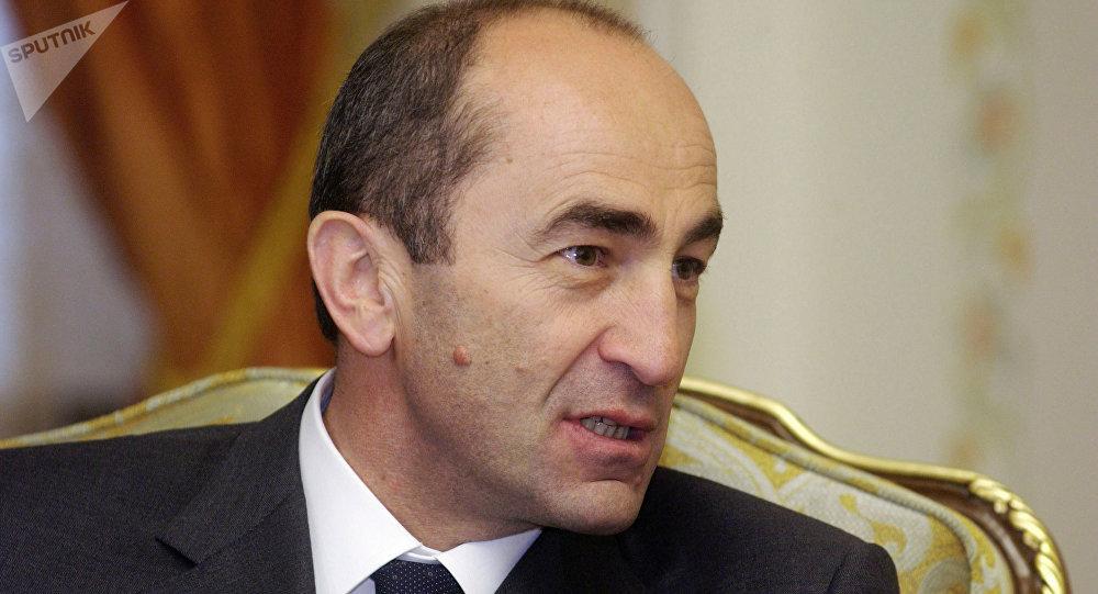 亚美尼亚前总统罗伯特∙科恰良