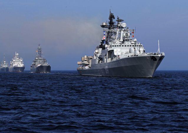 普京:2018年俄海军将列装26艘新舰艇