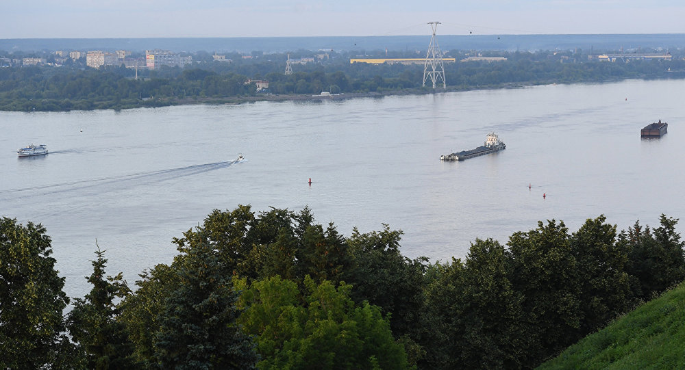 下诺夫哥罗德和伏尔加河