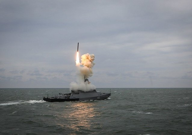 """俄罗斯愿意出口装备""""口径""""巡航导弹的导弹炮艇"""