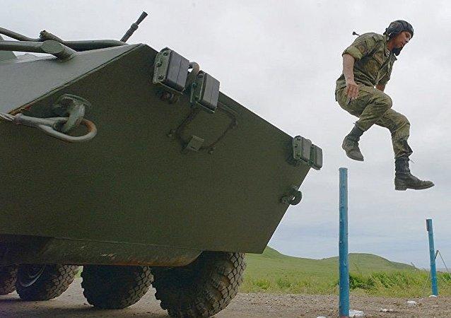 俄罗斯军人