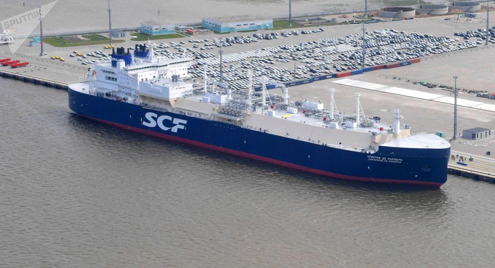 克里斯多福·德·马热里号油破冰天然气运输船