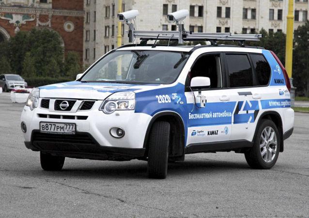 用认知科技公司人工智能系统的无人汽车