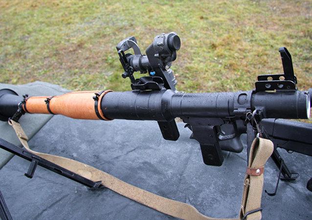 40毫米手持反坦克榴弹发射器RPG-7V