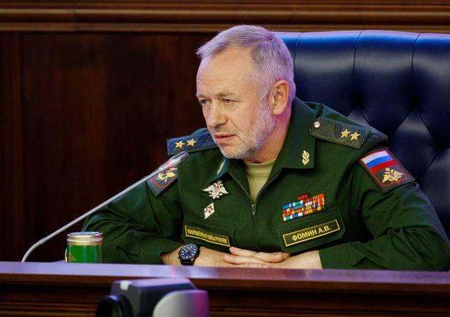 俄罗斯国防部副部长福明