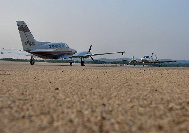 塞斯纳414飞机