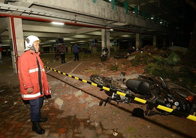 印尼龙目岛地震
