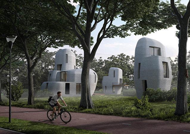 荷兰将现3D打印房屋