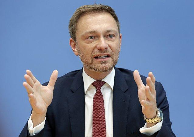 德国自由民主党主席支持改变德对俄政策