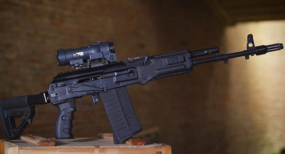 """""""卡拉什尼科夫""""公司开发出了新的冲锋枪"""