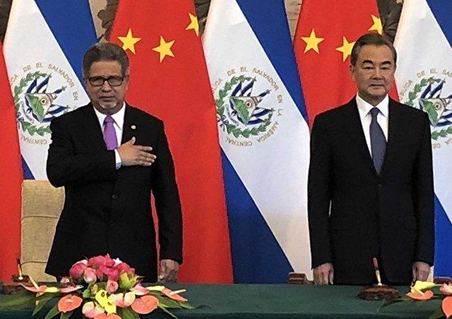 中国外交部:中方敦促美方客观看待中国与萨尔瓦多建交