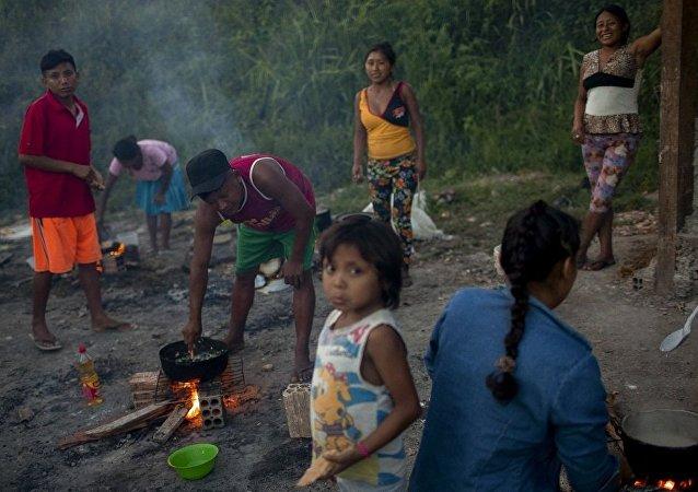 来到巴西的委内瑞拉移民