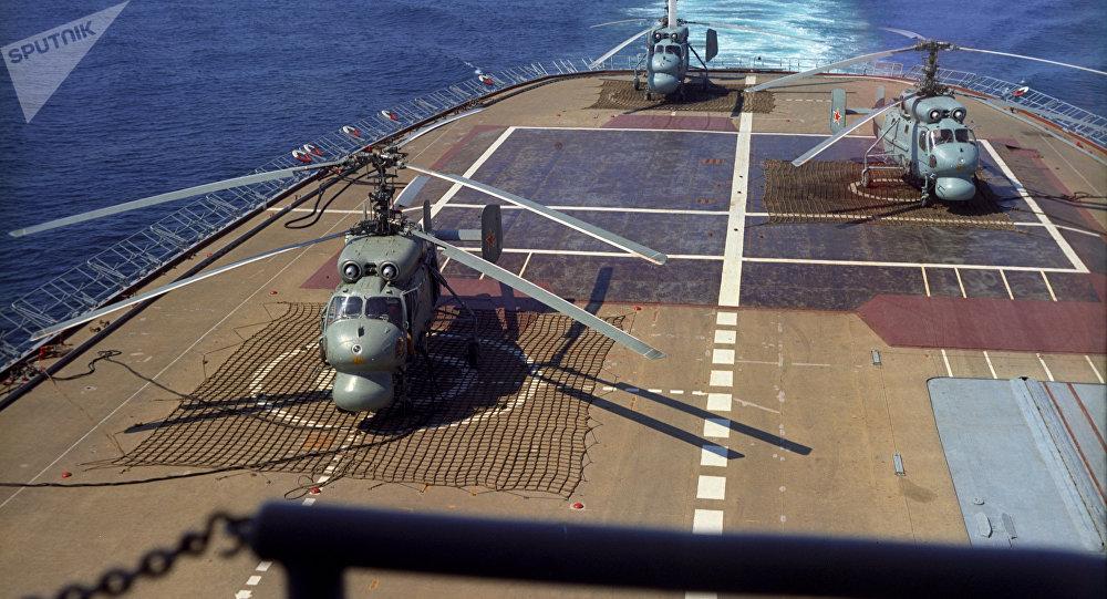"""""""莫斯科""""号直升机航母"""