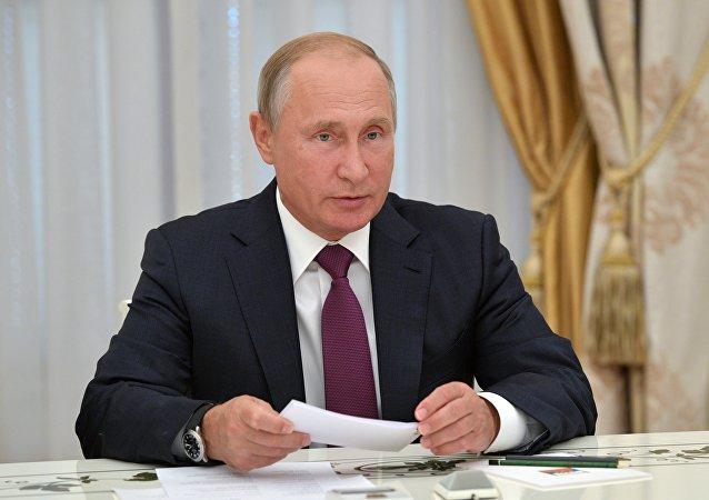 普京:俄罗斯将坚决捍卫海外同胞的权利