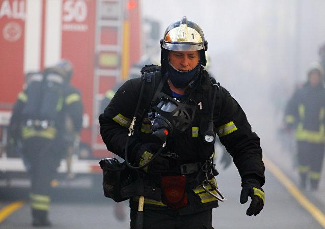 莫斯科消防员