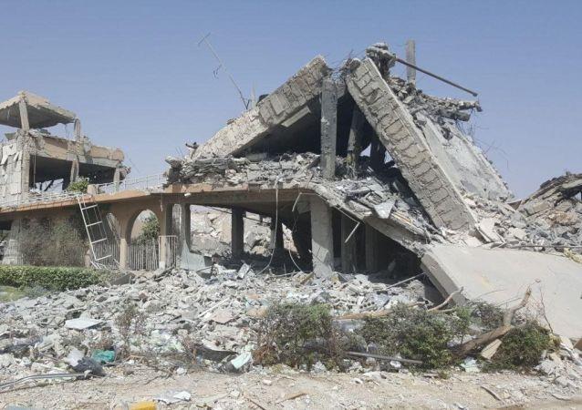 声明:美国主导联军否认造成叙哈津地区平民死亡