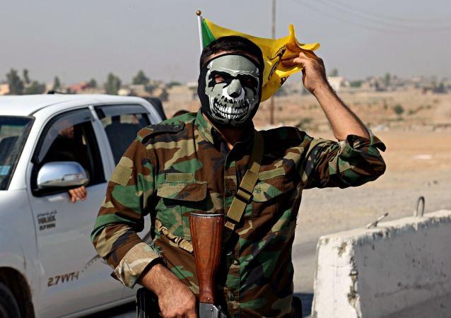 """叶派组织""""Al-Hashd al-Shaabi"""" 民兵"""